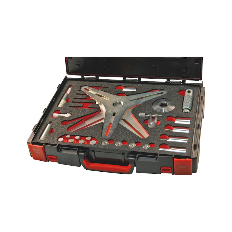 Kit d'outils d'accouplement SAC, pour accouplements auto-ajustables, avec traverse à 3 et 4 points Universel - KIT DEPOSE UNIV EMBRAYAGE SAC