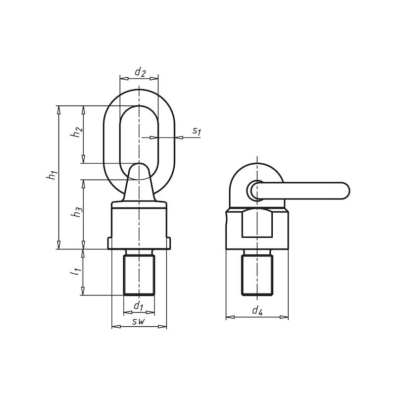 Wirbelbock GK 8 - WRBLBOCK-8-360-(0,3T)-M10X18