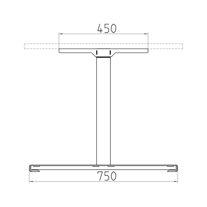 Tischgestell TMQ70/3 - 3
