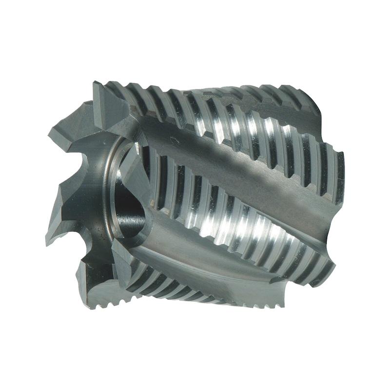 Walzenstirnfräser HSCo DIN 841 Typ NF - 1