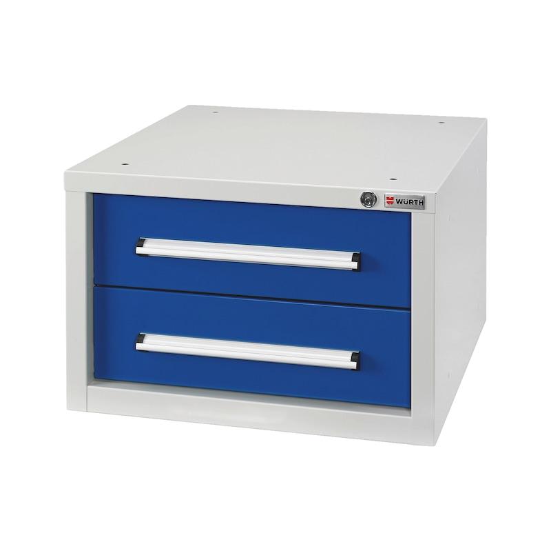 Schubladenkasten BASIC - SLSHRNK-BASIC-USK2-RAL5010/RAL7035