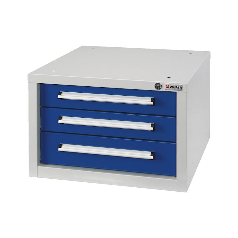 Schubladenkasten BASIC - SLSHRNK-BASIC-USK3-RAL5010/RAL7035