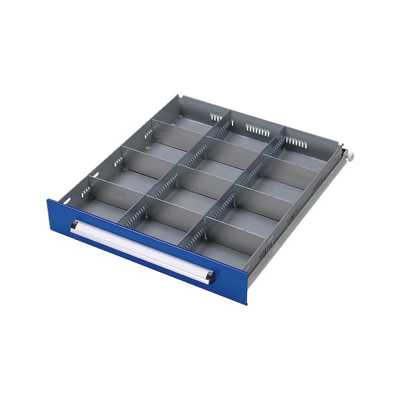 Schubladen-Einteilungs-Set BASIC US/USK, 12-fach
