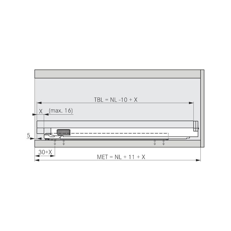 Tablarhalter-Set - 8