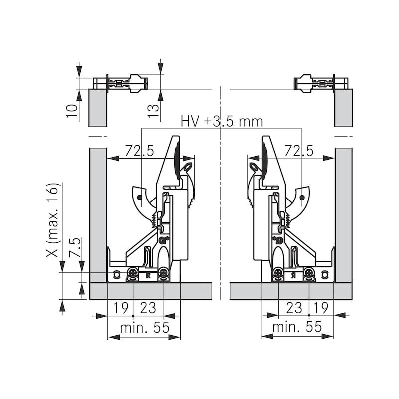 Tablarhalter-Set - 4