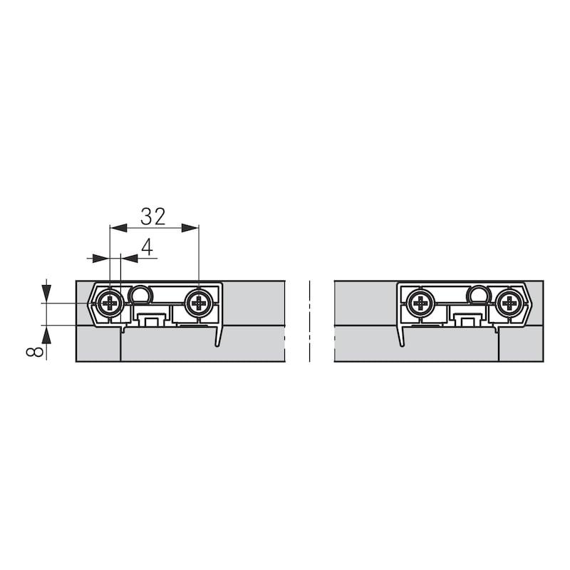 Tablarhalter-Set - 5