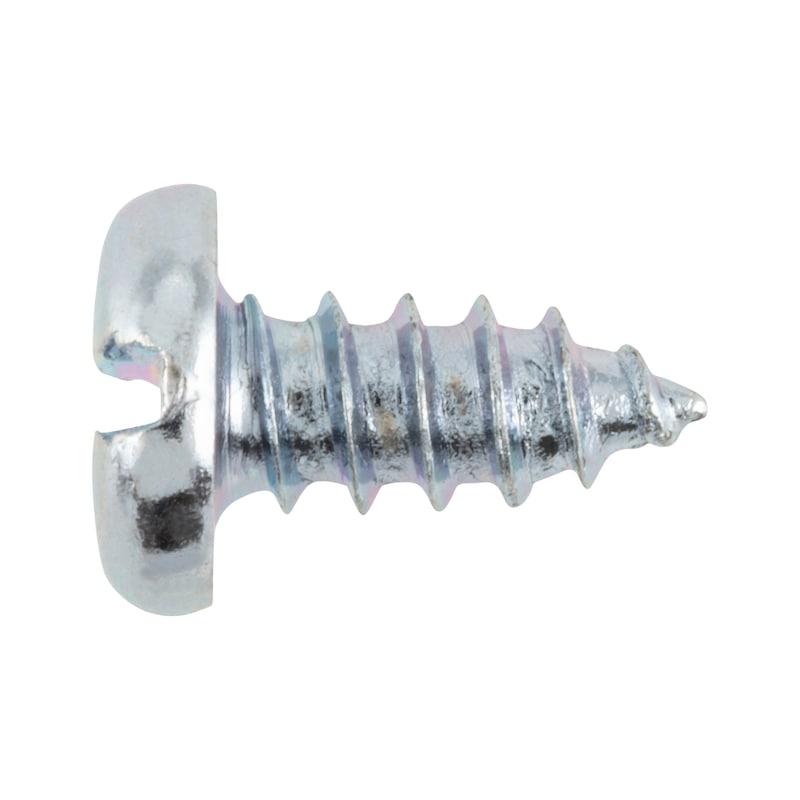 Zylinder-Blechschraube Form C mit Schlitz - 1