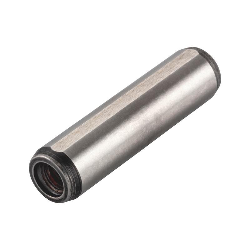 Zylinderstifte mit Innengewinde gehärtet - STI-ZYL-GEH-ISO8735-A-H6-10X30