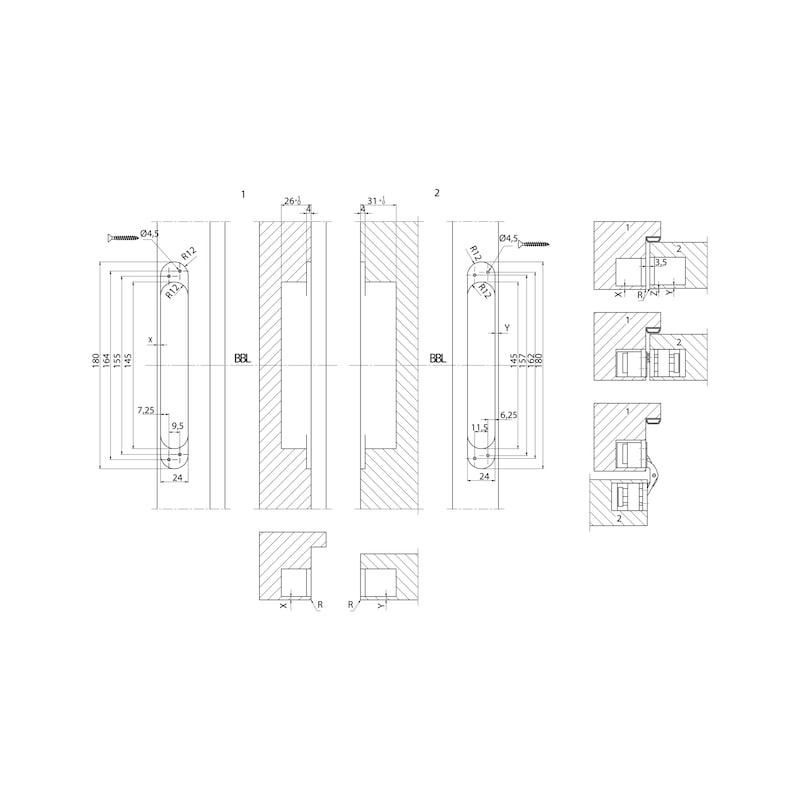 Türband VLB 40 3 D Design - 3