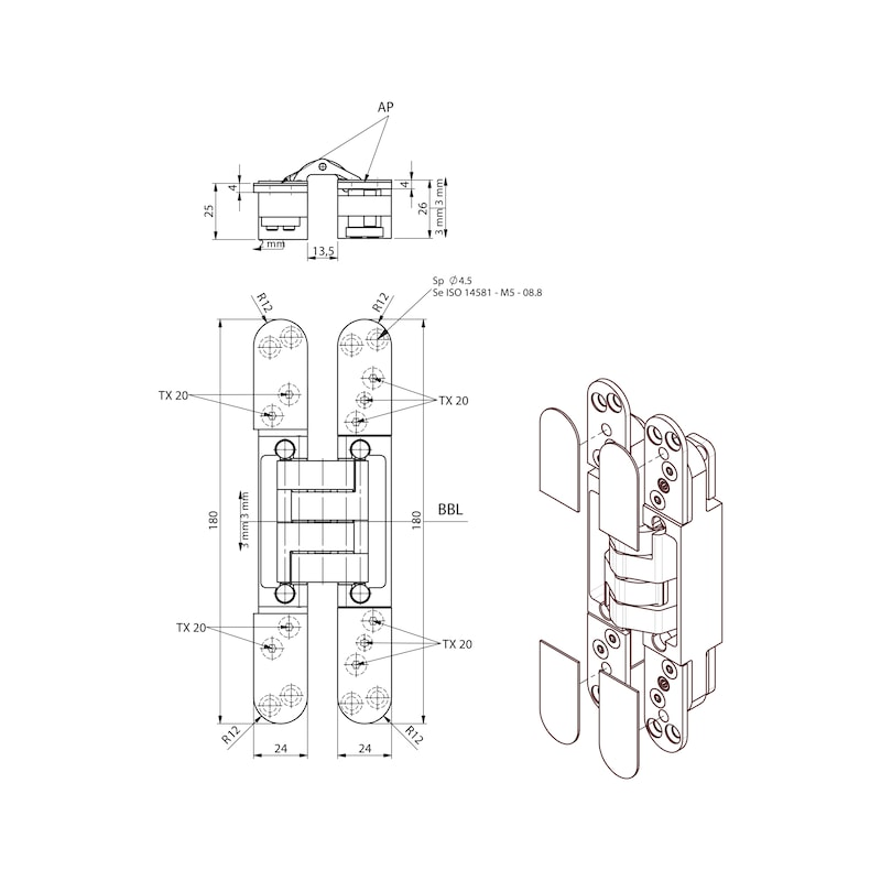Türband VLB 40 3 D Design - 2