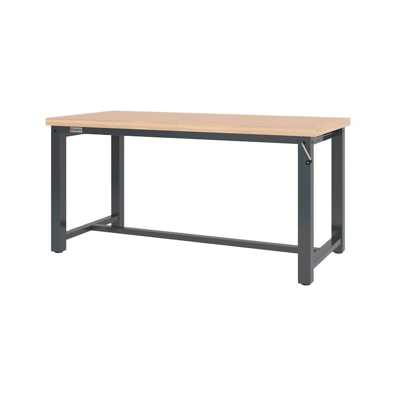Werktisch PRO höhenverstellbar mit Handkurbel