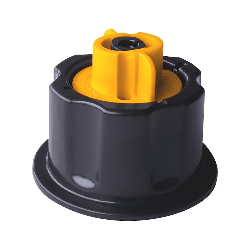 Système de pose pour carrelage avec croisillons de nivellement - 1