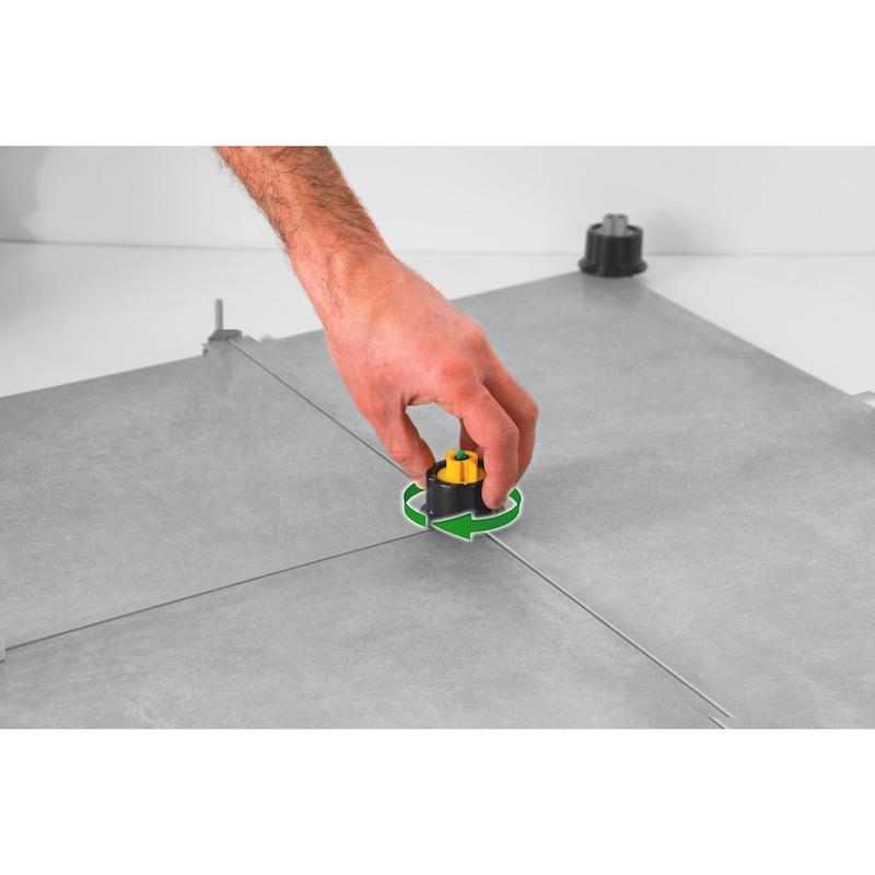 Système de pose pour carrelage avec croisillons de nivellement - 5