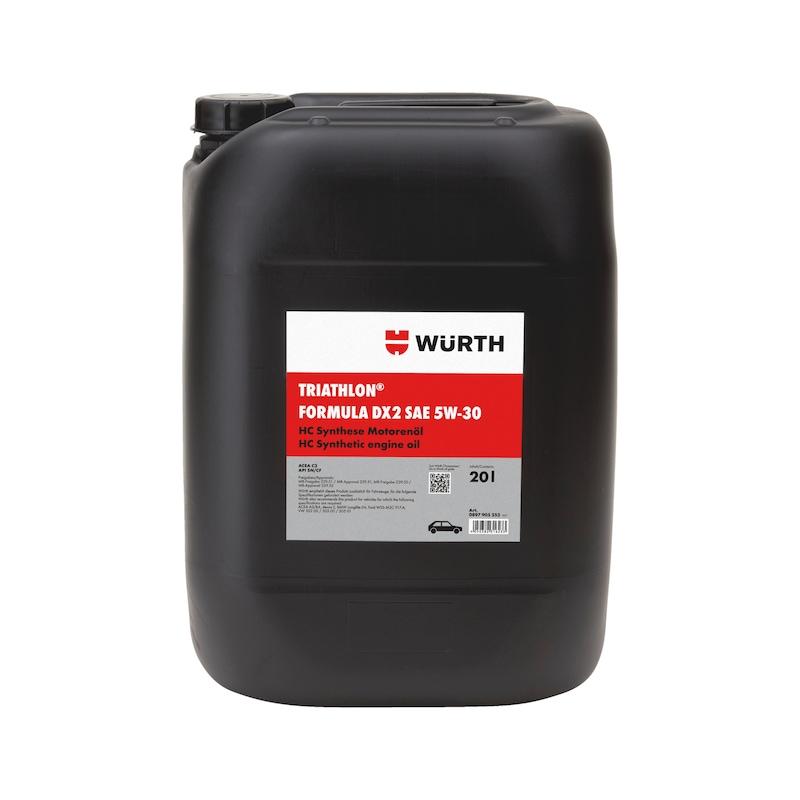 Motoröl TRIATHLON<SUP>®</SUP> Formula DX2 5W-30 - MOTOEL-(FORMULA-DX2)-5W30-20LTR