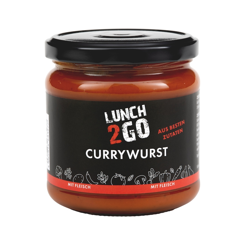 Lunch 2 Go Currywurst - 1