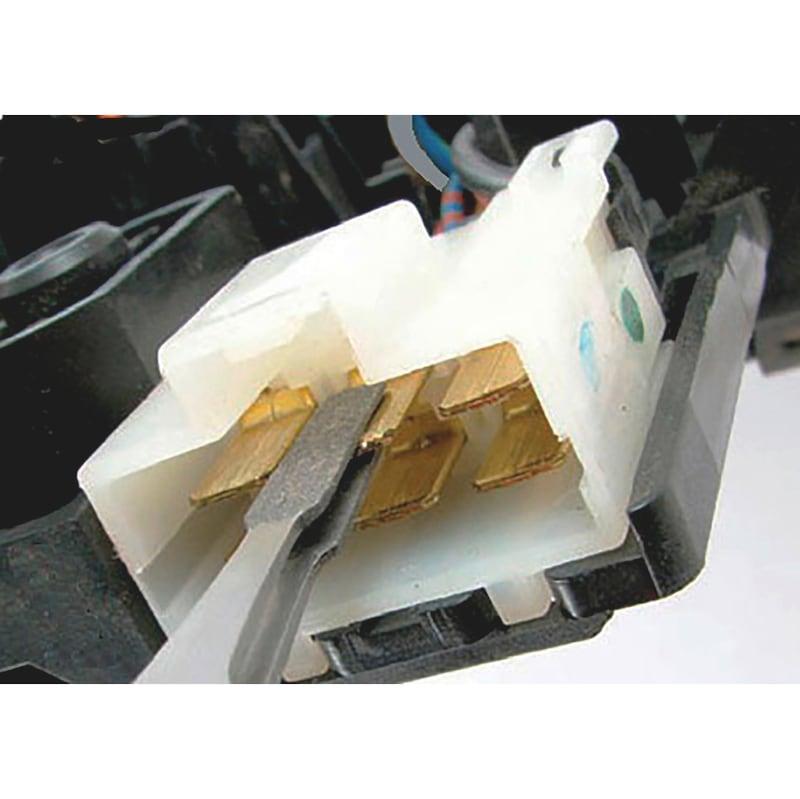 Flat plug cleaner set, diamond-coated - 2
