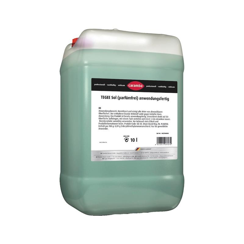 Flächendesinfektionsmittel Tegee Sol - DESINFEKT-FLÄCHEN-CARAMBA-8427040010-10L