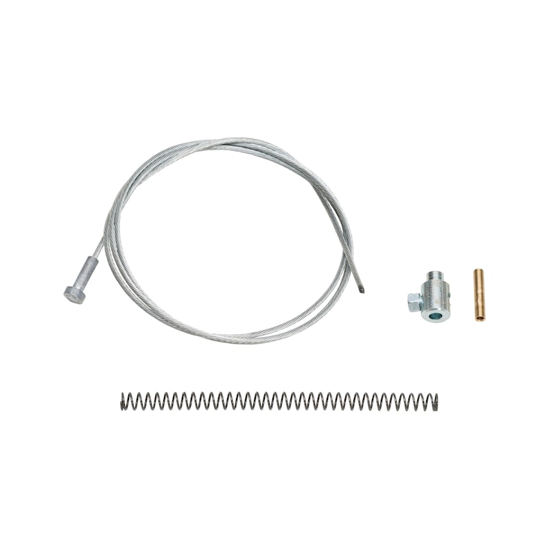 スプリングバンドクランププライヤー、スペアパーツ、内部ケーブル - ホースバンドプライヤー用替えケーブル