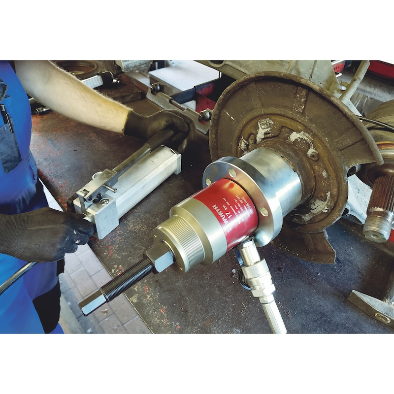 Wheel bearing tool set MB 10 pieces - 2