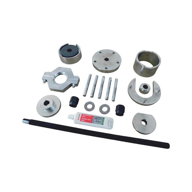 Wheel bearing tool set MB 10 pieces - 3