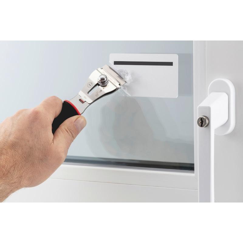 Blade scraper with quick lock set - 5