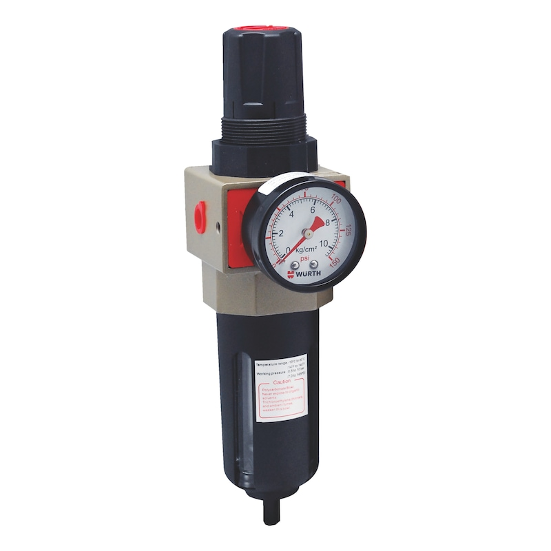 Compressed-air filter / Regulator Semi-automatic - PRESREDR-PN-MODULAR-SEMIAUTO-1/2IN