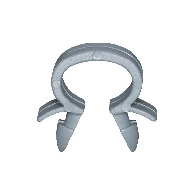 ケーブルクランプ タイプ1 - クリップ ロッドホルダー グレー