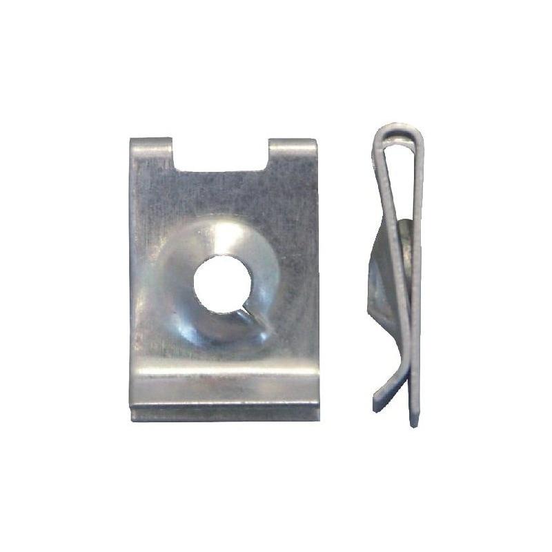 板金ナット タイプ1 - DB/BMWクリップ ピアスナット 4.2MM