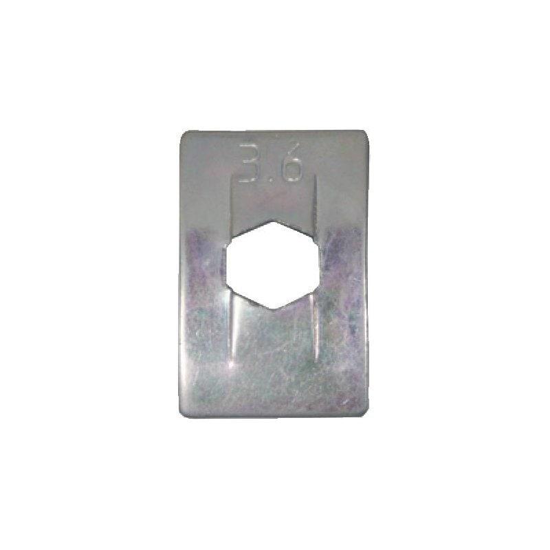 スプリングナット タイプ2 - OPEL/GM用スピードナット 3.5MM