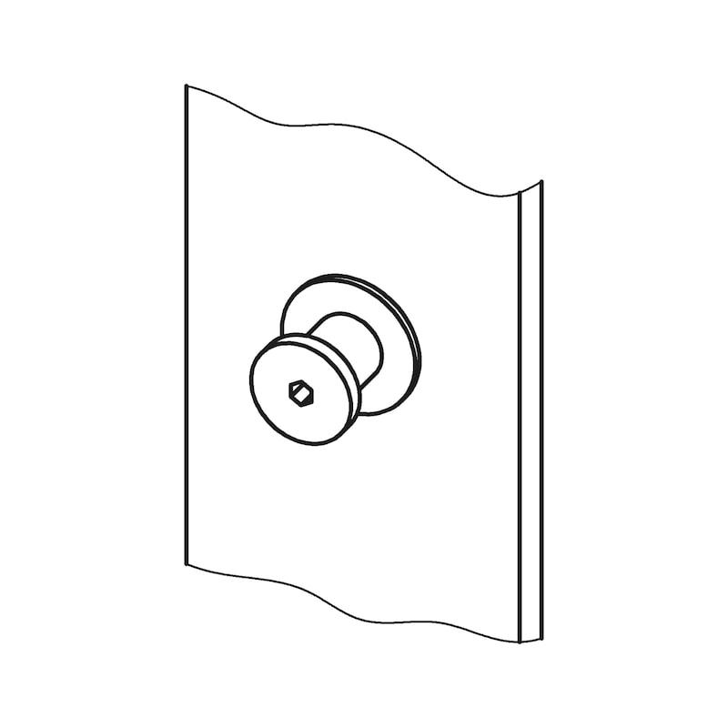 Mehrfachverriegelung Mit 4 V-Zapfen - 8
