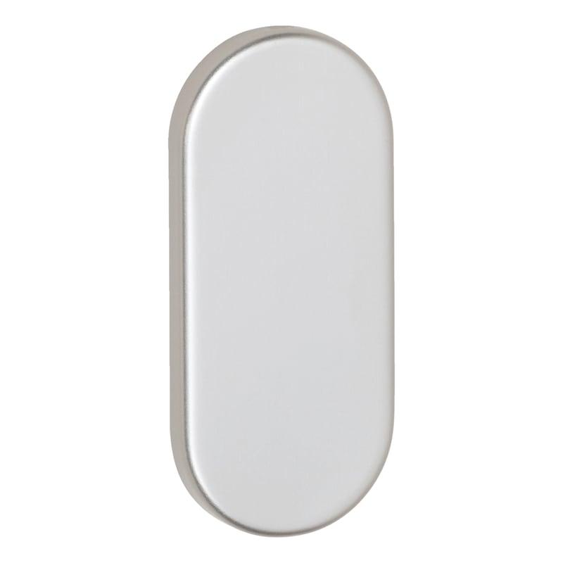 Ovalblindrosette AL außen - TD-ALU-OVAL-ROS-BLIND-AUSSEN-9MM-F9