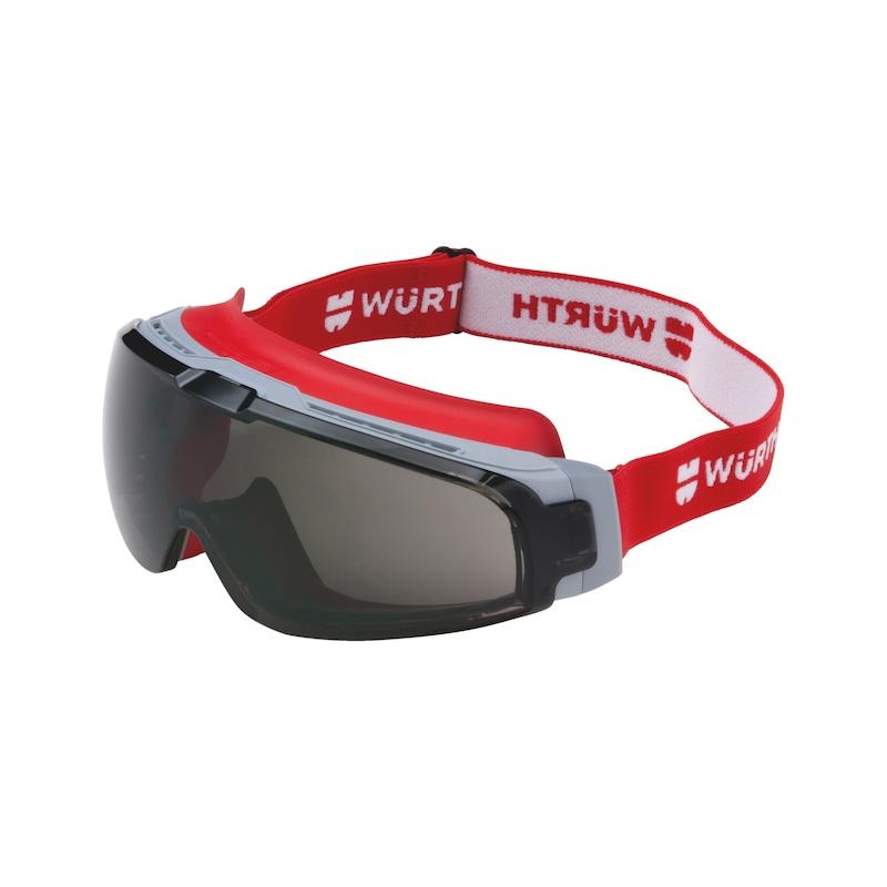 Vollsichtbrille Scorpius mit Sonnenschutz-Vorsatzscheibe - 1