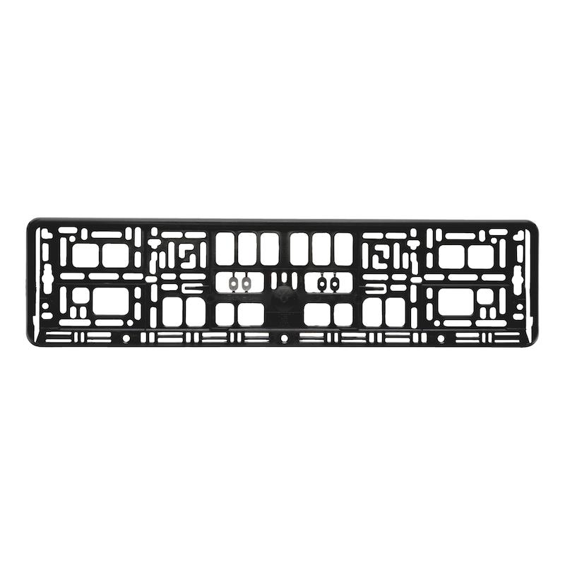 Grundplatte für Kennzeichenbefestigung Basixx - KSB-GRUNDPLATTE-BASIXX-520MM