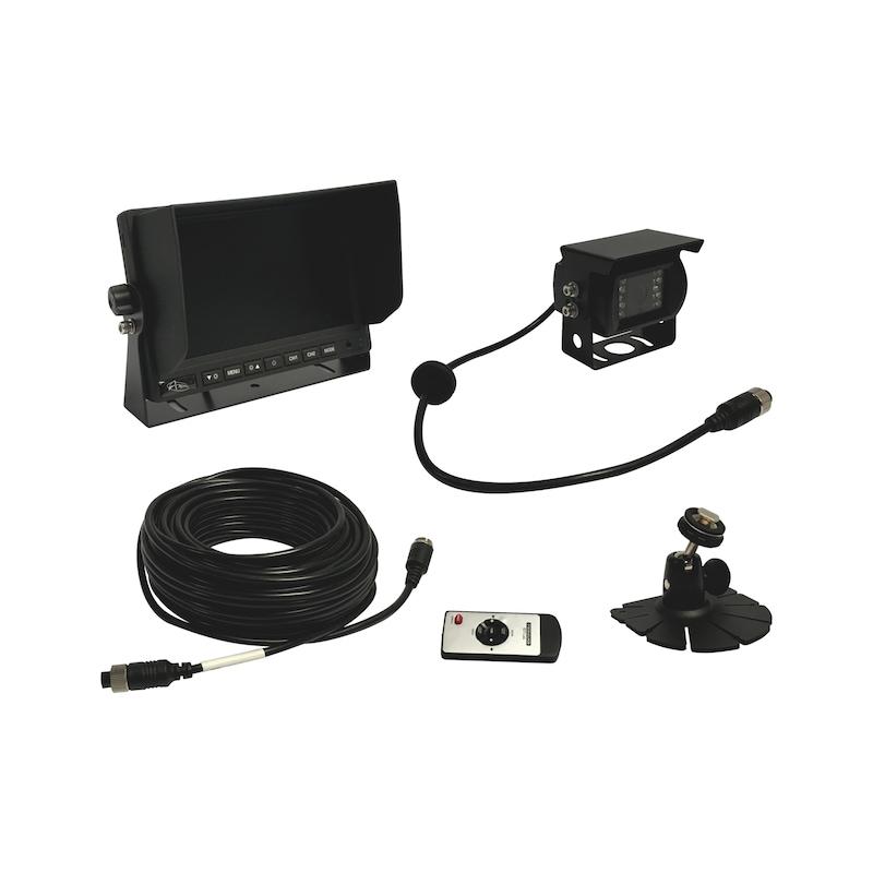"""Kit de rétrovision audio écran 7"""""""