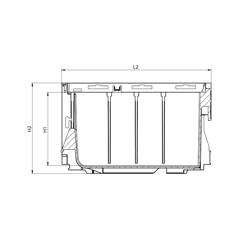 System-Lagerbox W-SLB - 2