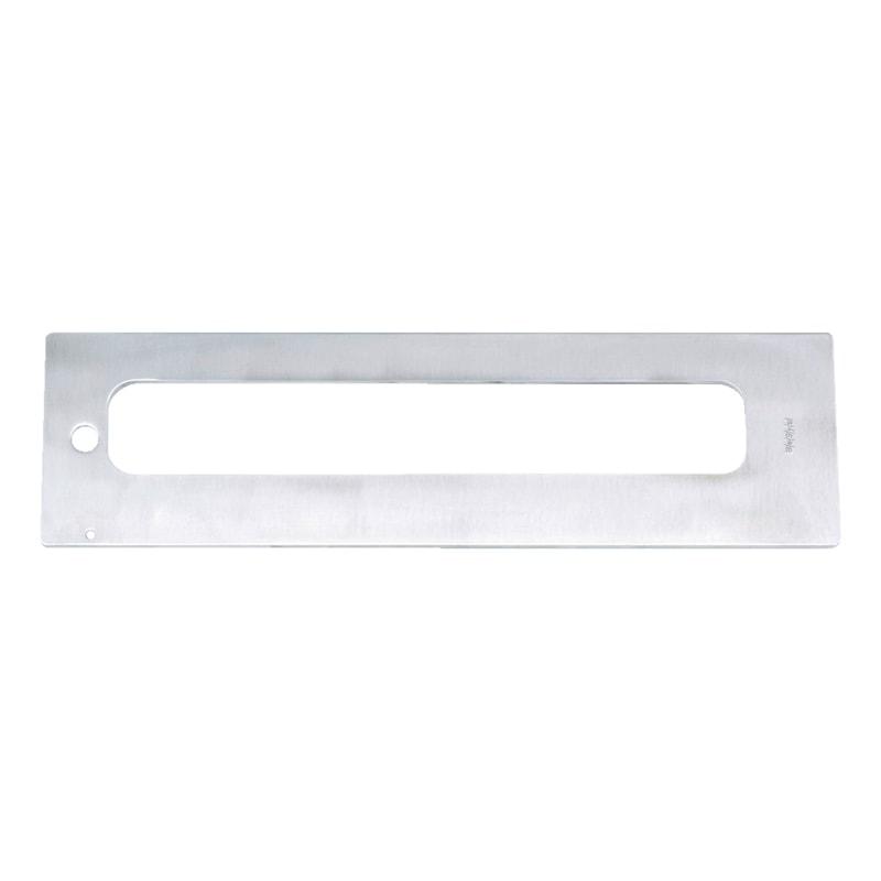 Einlegeschablone  Für VLB 200 als Flügelfräslehrenkörper