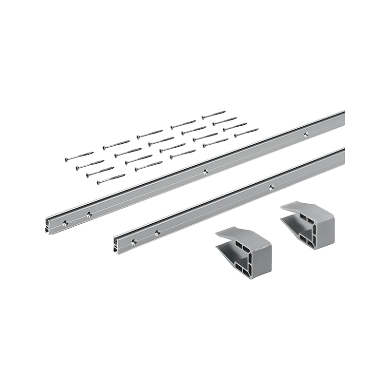 Schienen-Set vorliegend zweifach SlideLine M - 1