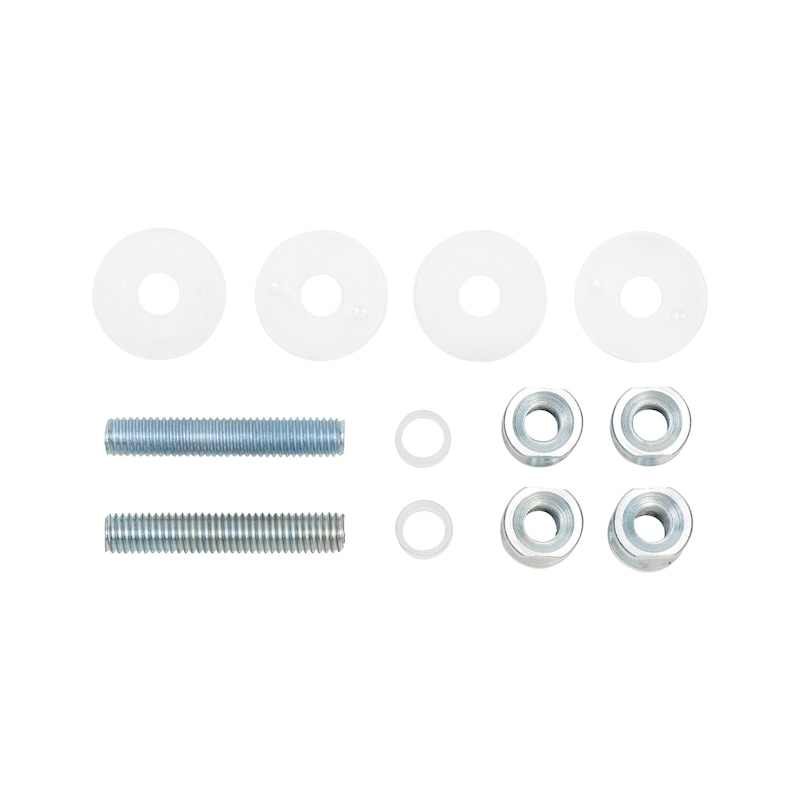 Fastening set for stainless steel door handle Type A - 1