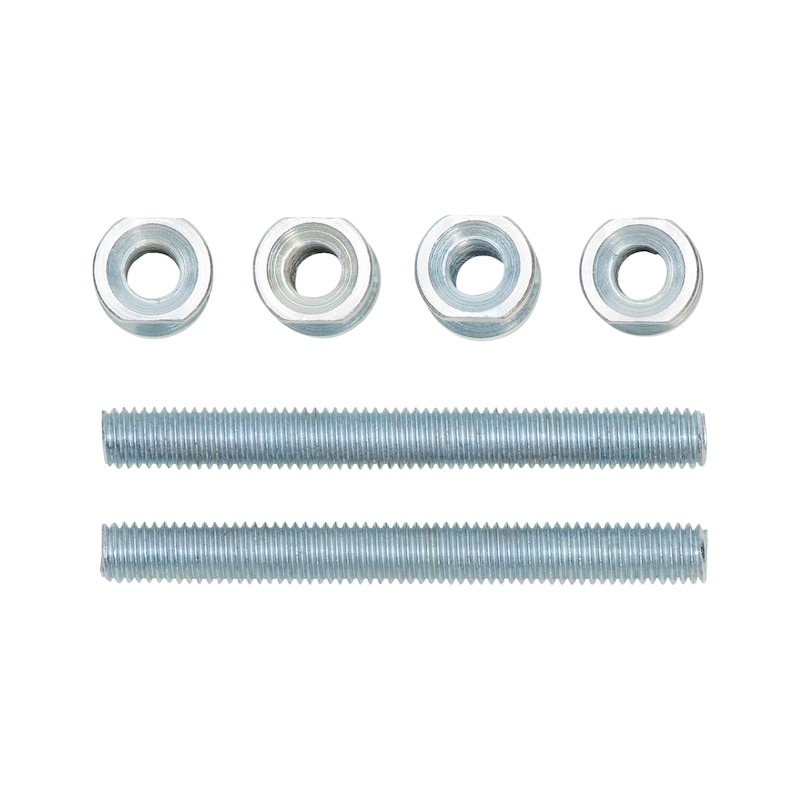 Type A mounting kit for stainless steel door handle - 1