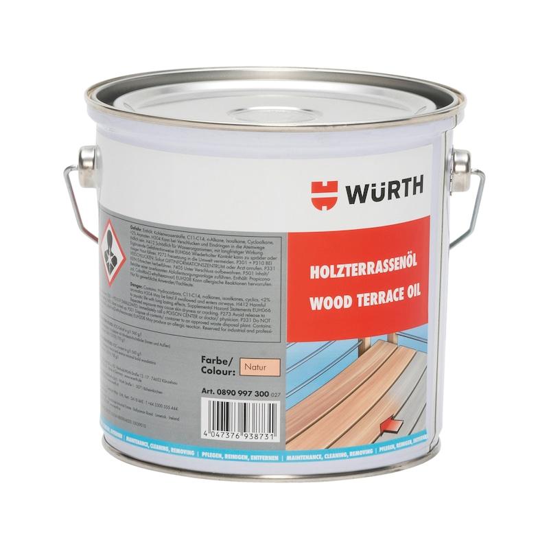 Holzterrassenöl - 1