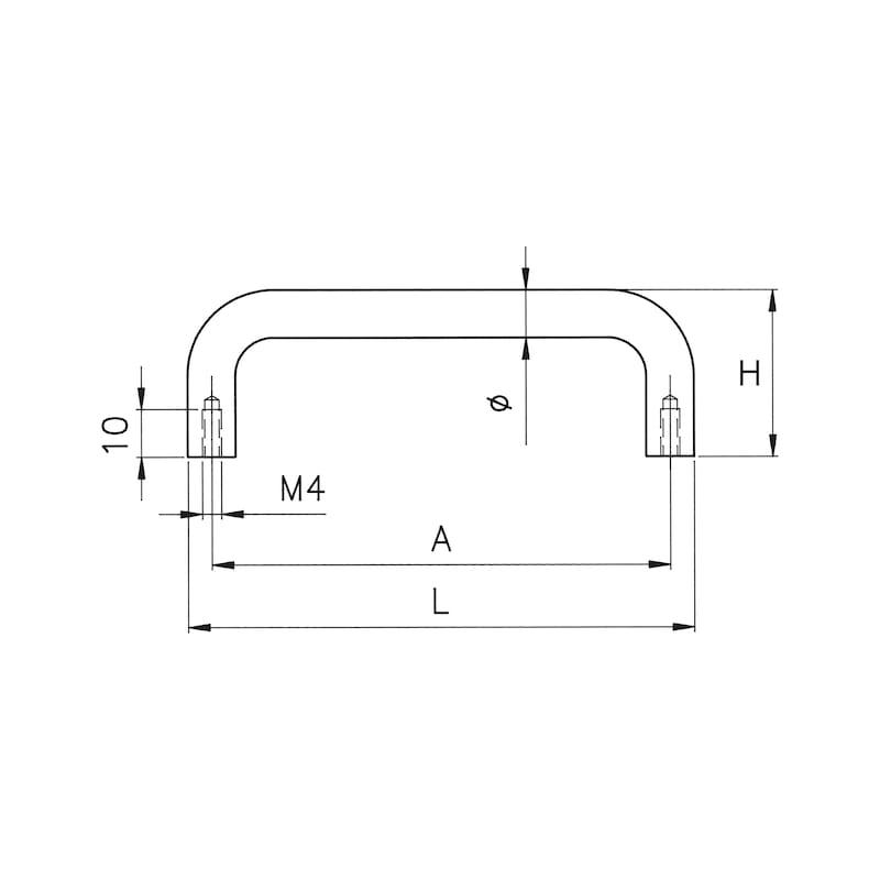 Stirrup handle - 2