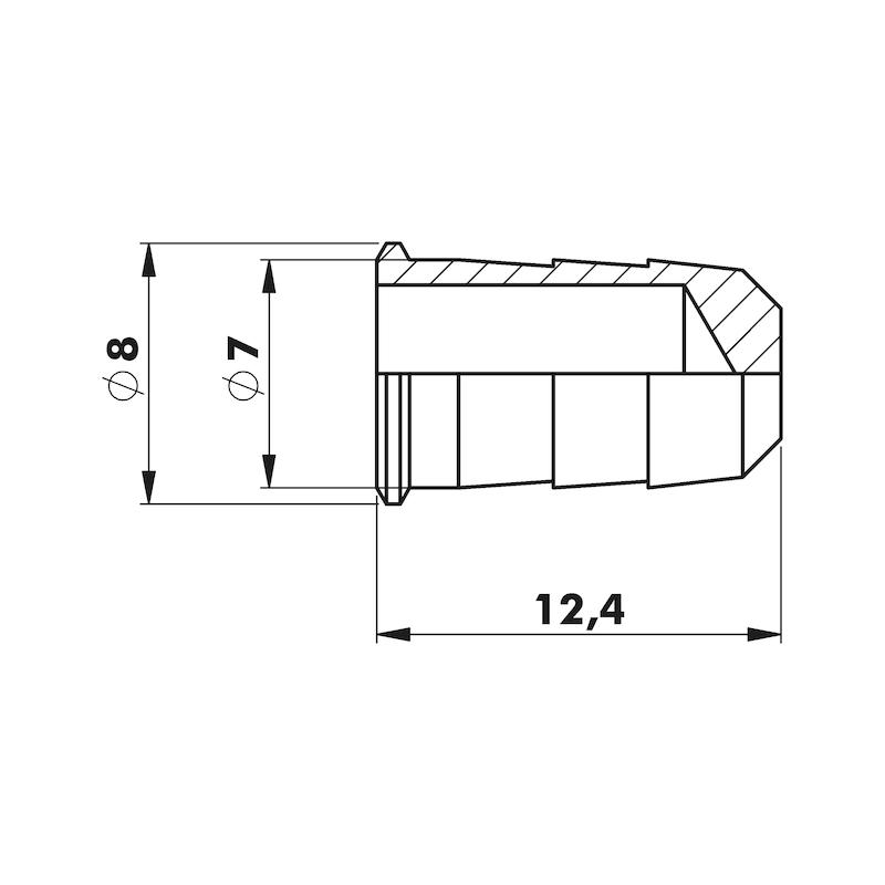 Einschlaghülsen-Set für Insektenschutz - 2