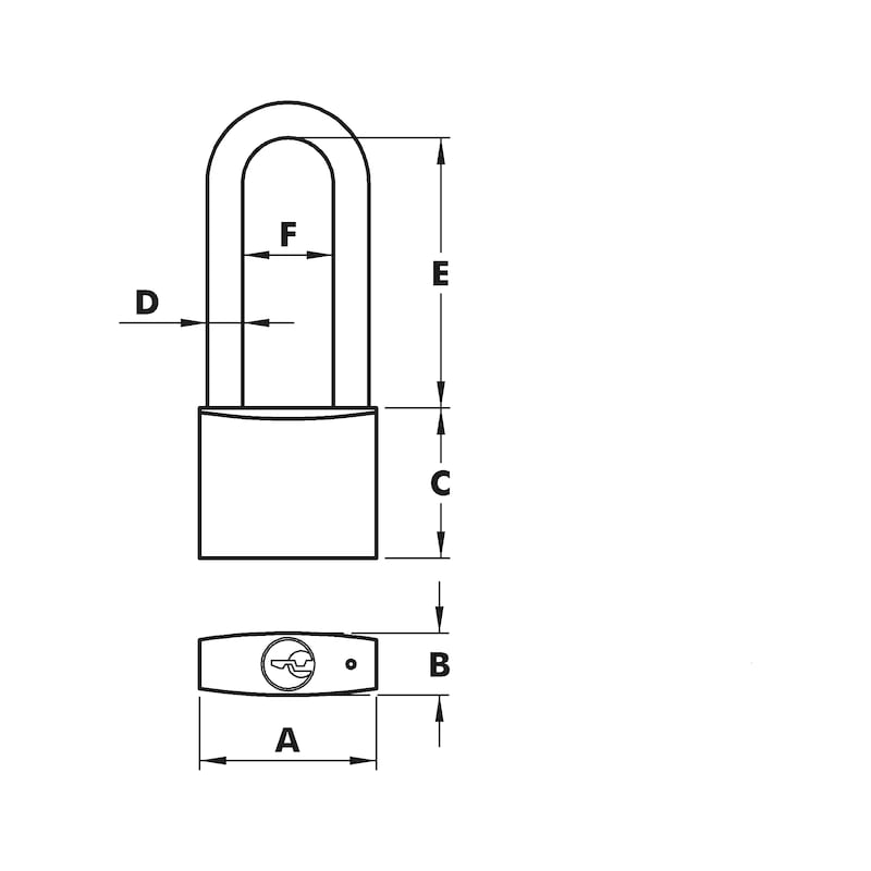 Vorhängeschloss Magno - 2
