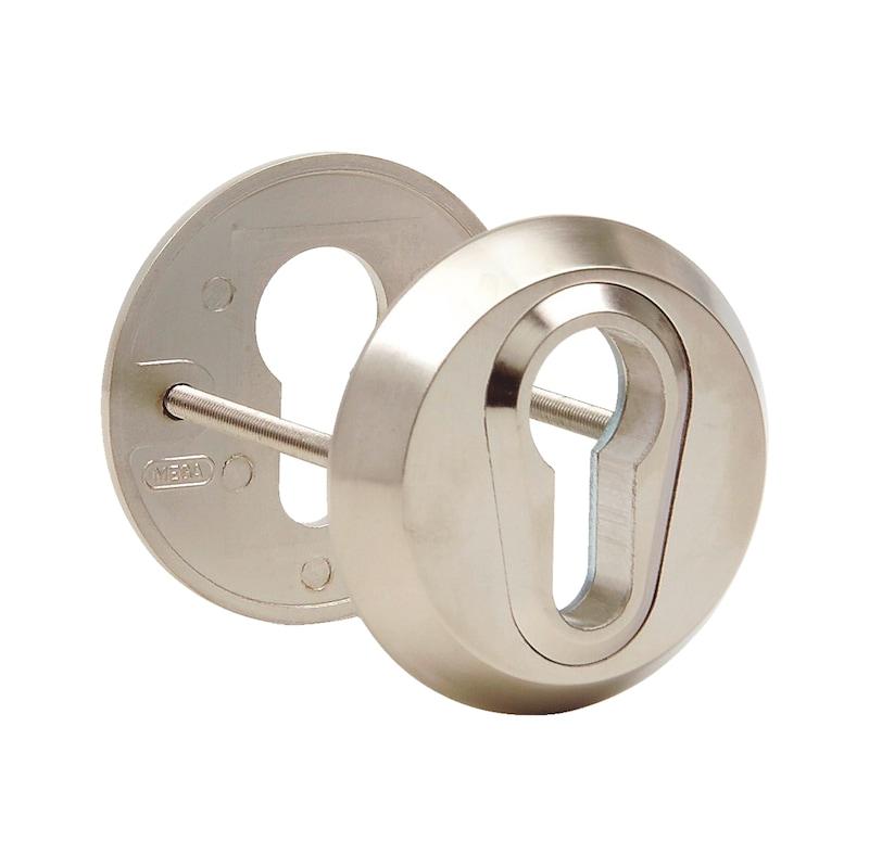 Die-cast zinc security rosette - 1
