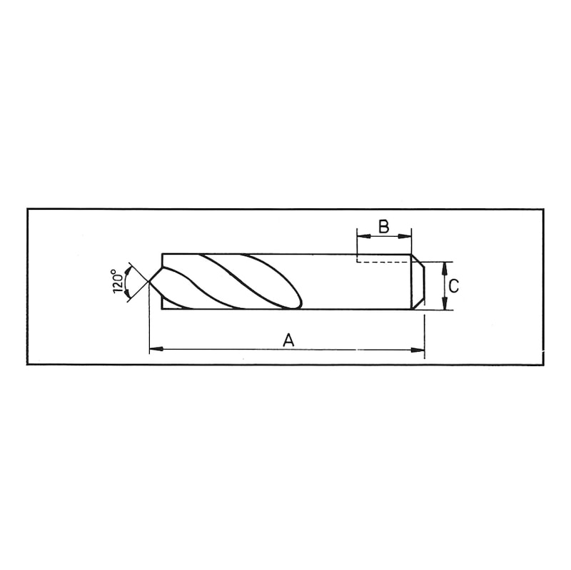 Varioドリル用超硬スポット溶接カッター - 超硬スポットドリル スポットル用 8.0Φ