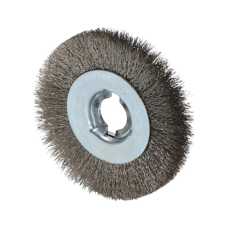 Spazzola a fili d'acciaio inossidabile