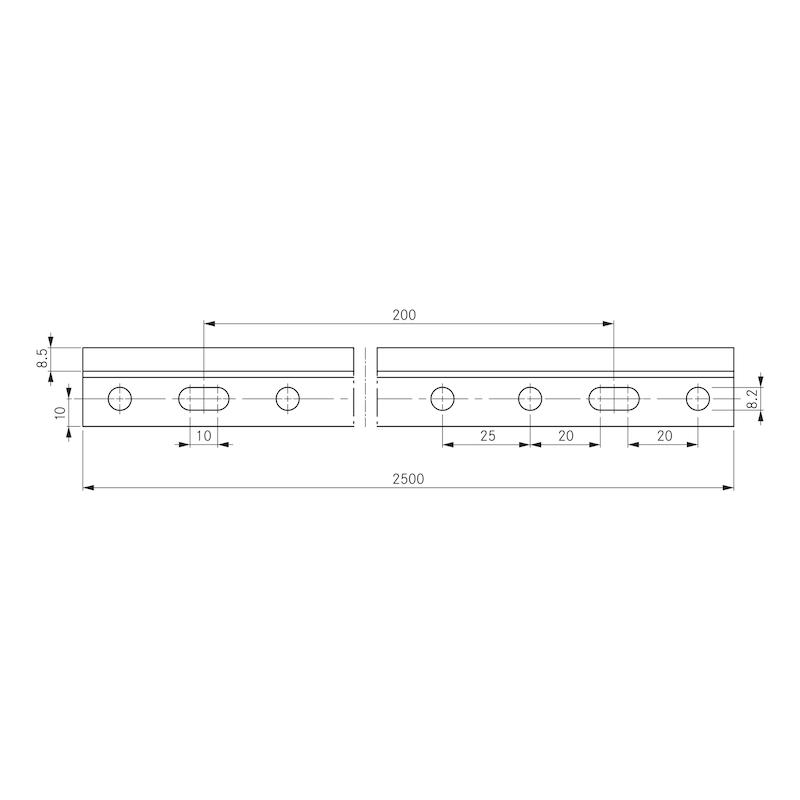 Suspension rail - 2