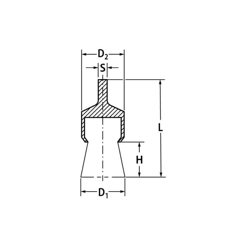 Pimli tel fırça/kalem tel fırça - KALEM TEL FIRÇA-ÇELİK İÇİN-20000RPM-D30