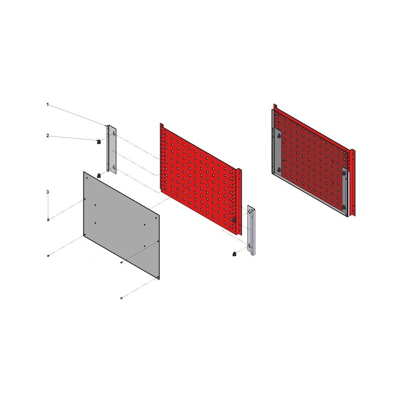 Halterung für Set-Display - 2