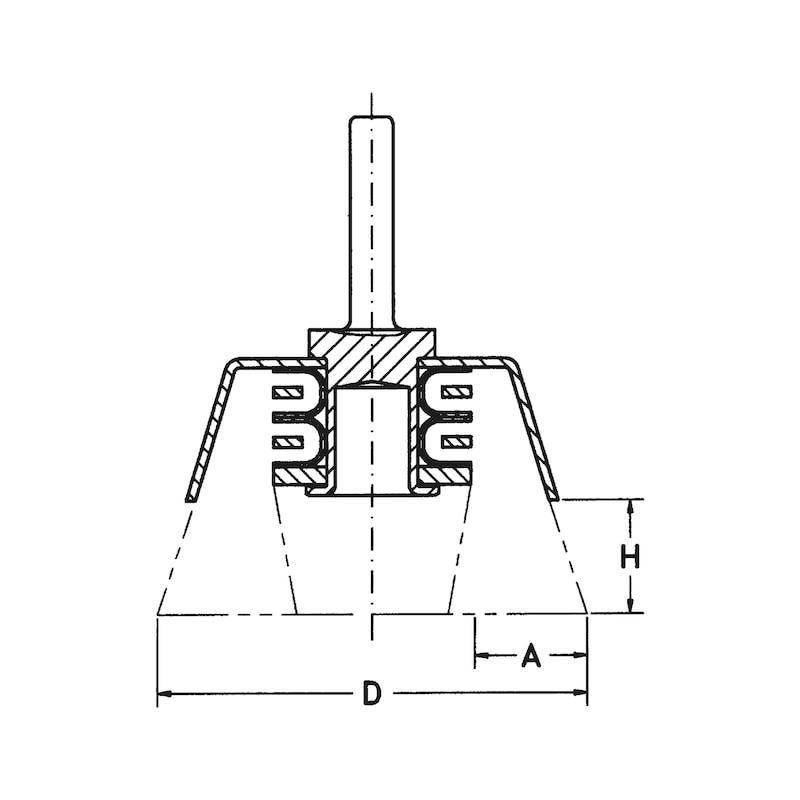 Flächenbürste - 2